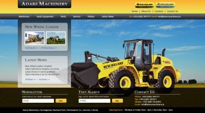 Adare Machinery - Ecommerce Website