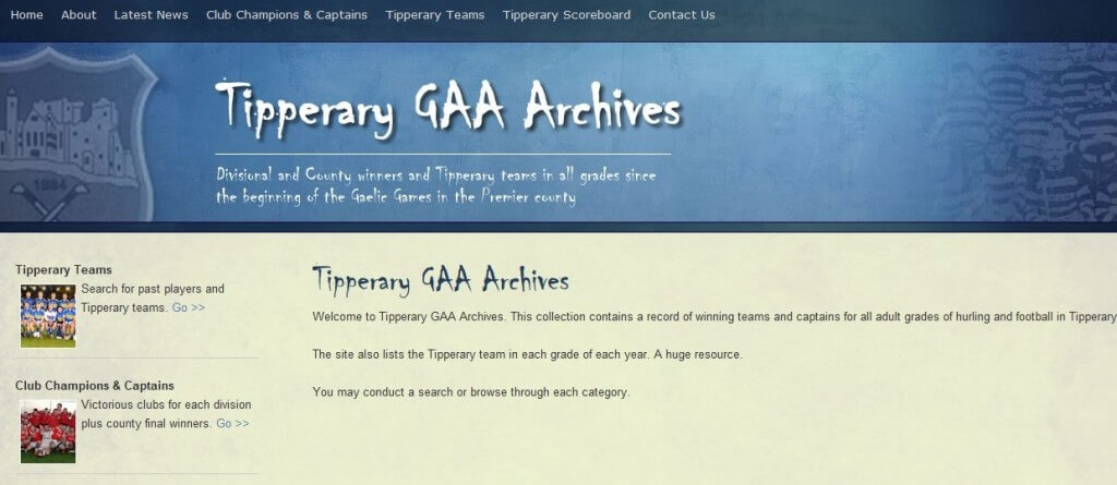 Tipperary GAA Archives - Tipperary Website Design