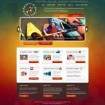 Adventure World Camps - Fun and appealing website design