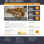 Website Design Ireland - Global Box Shipments