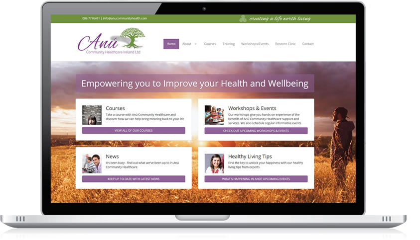 Anu Community Healthcare Website