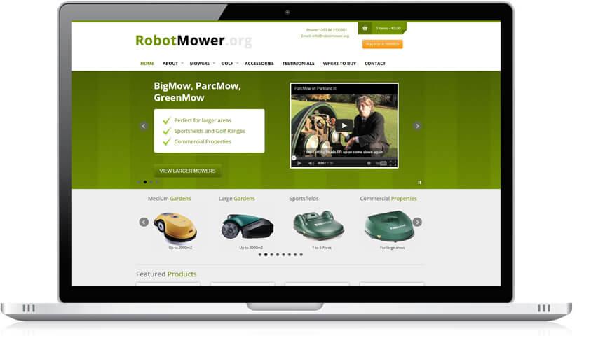 Ecommerce - Robot Mower