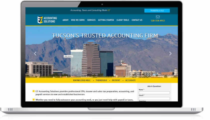EZ Accounting Website Project