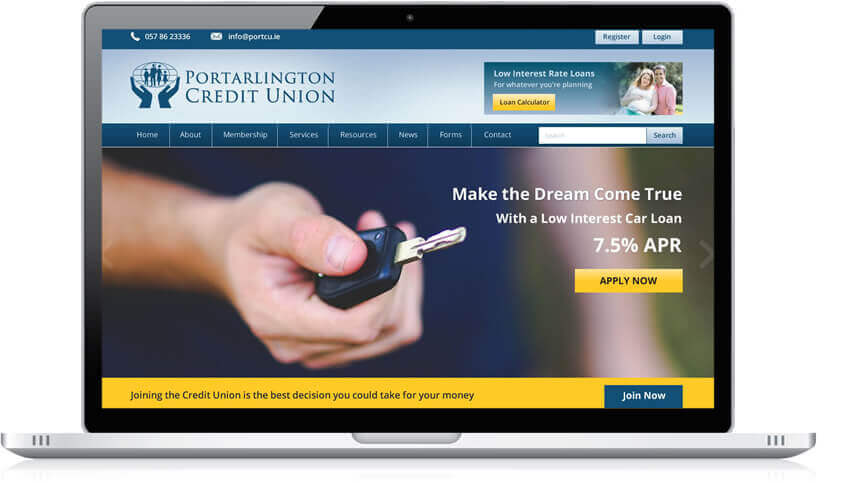 Website Developer for Credit Unions