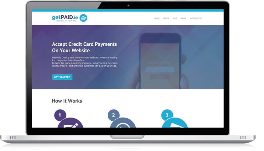 how to add credit card payment on website